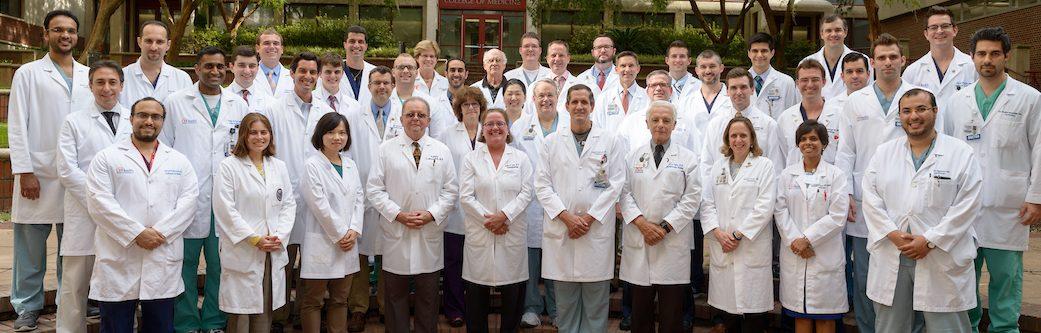 2016 Cardiology Faculty and Fellows